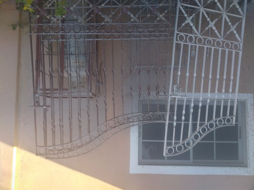 A Set Of Beautiful Home Single And Double Gates