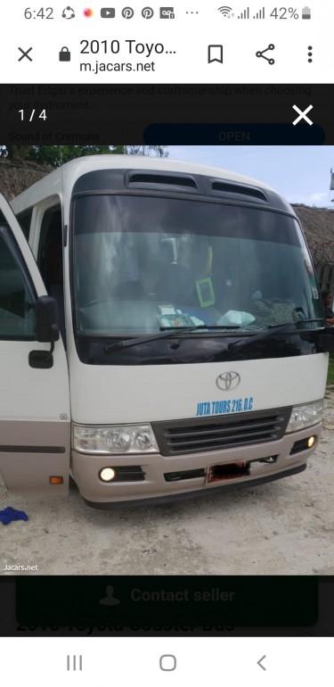 Toyota Coaster Bus 2010