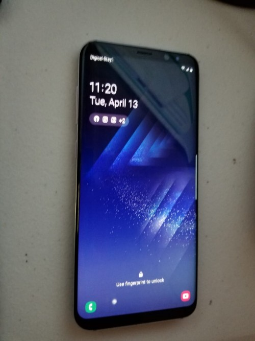Samsung S8plus Back Crack