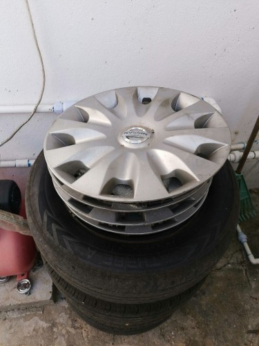 For Lug 15 Inch Steel Rims With Tires