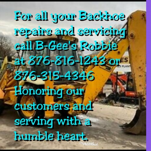 Backhoe & Tractor Repairs Services