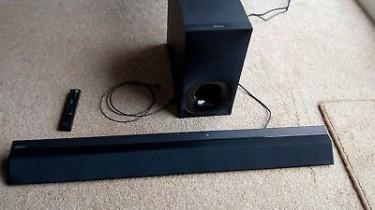 Sony CT380  Soundbar With Wireless Subwoofer