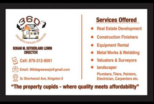 360° Degrees Estate Services