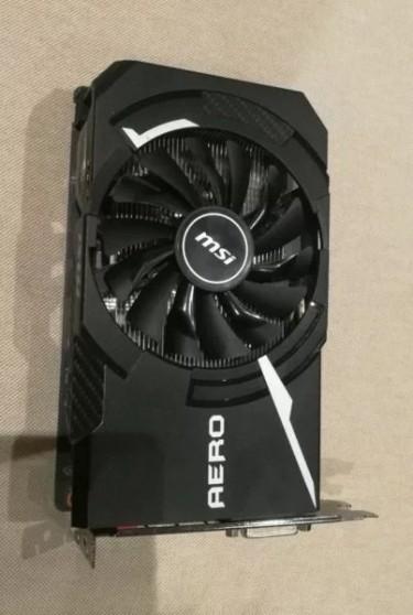 Graphics Card GTX 1060 (MSI Aero ITX) 6GB 60k Neg