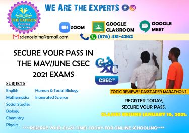CSEC, PEP STUDENTS