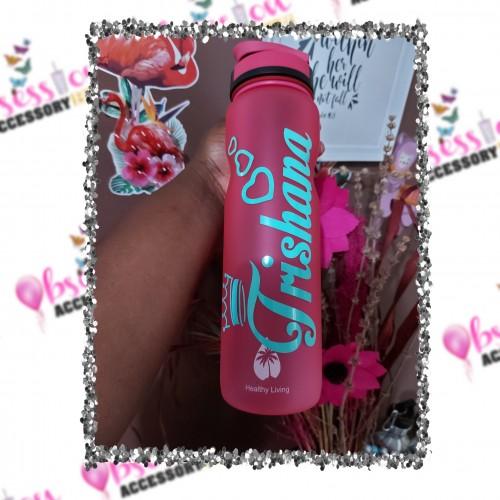 1L Matte Water Bottle