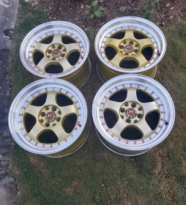 16 By 8 Offset Rims 4 Lug Universal