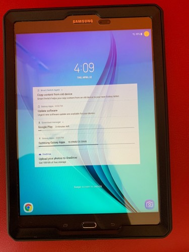 "New Condition Samsung Galaxy Tab A 9.7"" 16gb Stora"