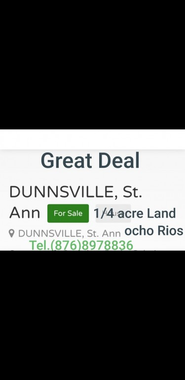 1/4 ACRES Land With Off Finish House