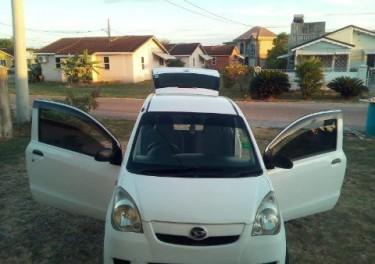 2 Door 2010 White Hatchback Daihatsu Mira