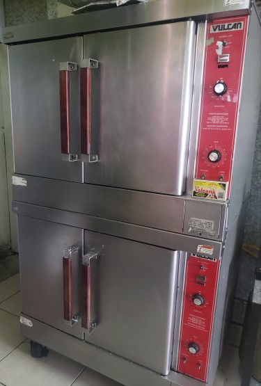 Vulcan Double Stack Natural Gas Convection Ovens