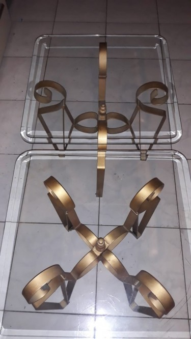 Glass Side Tables
