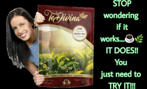 TeDivina Detox Tea Sip N Lose