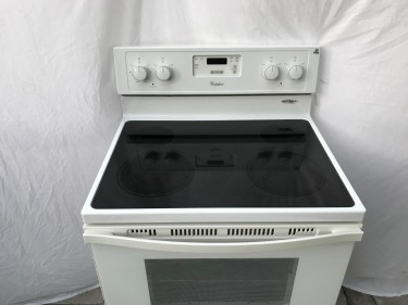 Whirlpool  Electric Stove White