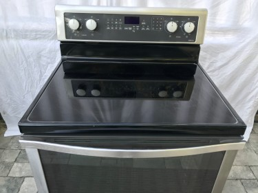 Whirlpool  Electric Stove Stainless Steel
