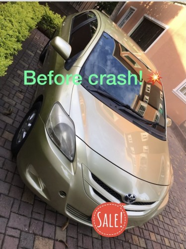 Crashed 2008 Toyota Yaris/ Belta