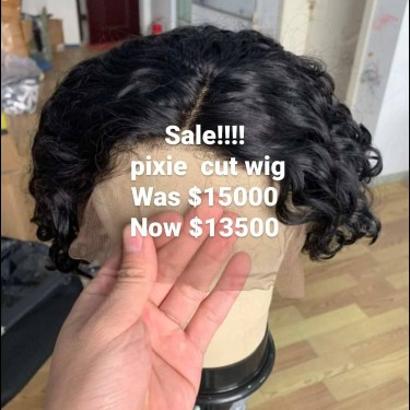 Pixie Cut Frontal  Wig