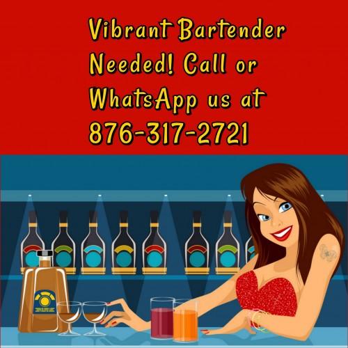 Bartender URGENTLY Needed.