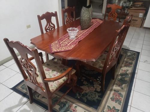 Mahogany Dining Table Furniture Kingston