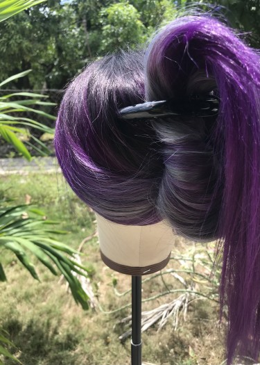 """New Human Light Yaki Lace Front Wig 24"""""""