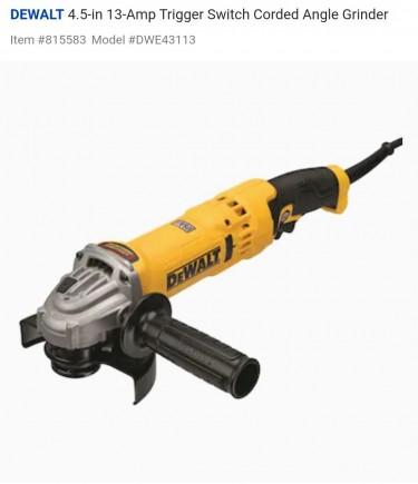 Hammer Drill, Circular Saw, Chainsaw