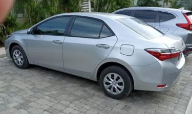 2018 Corolla XLI