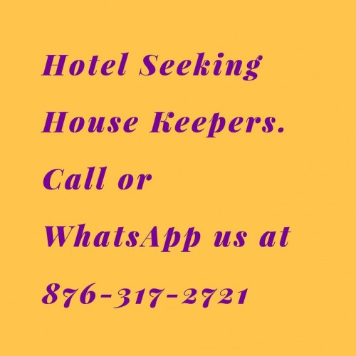 House Keeper Needed