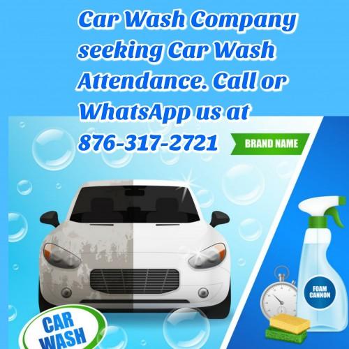 Car Washer URGENTLY Needed.