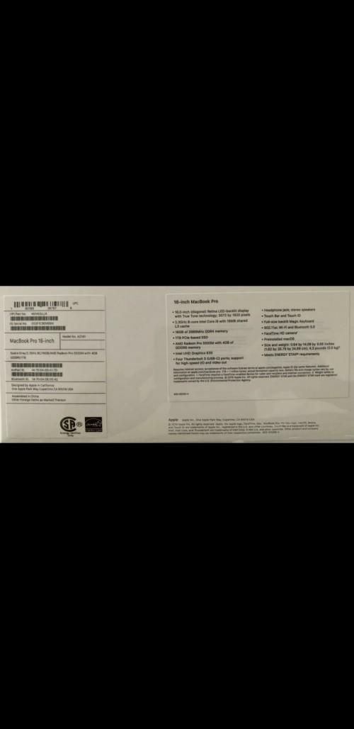 Brand New In Box Macbook Air 2020
