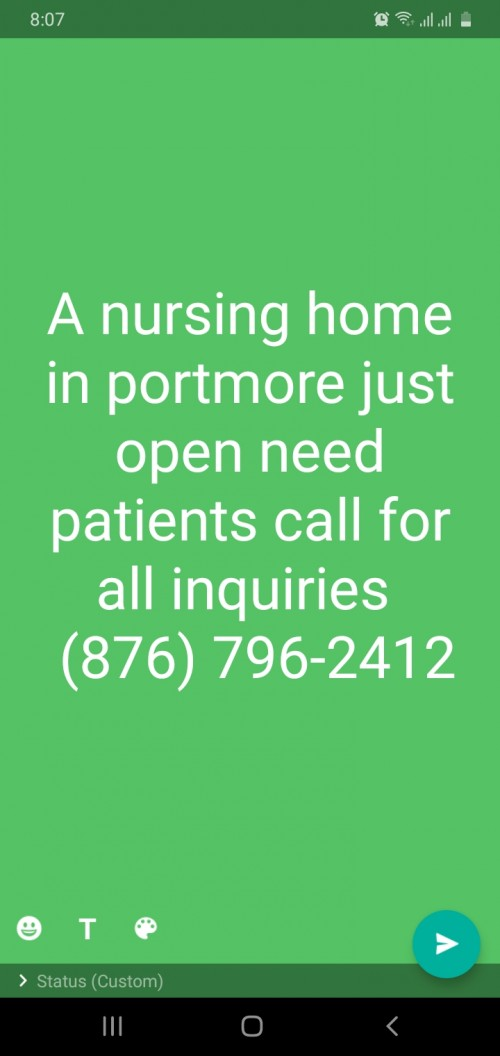 New Nursing Home Seeking Patients