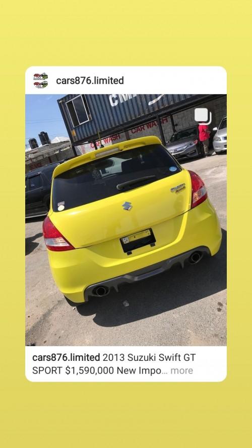 Suzuki Swift Gt 2013 Clean Driving Rims