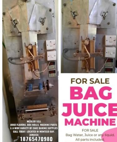 BAG JUICE MACHINE 8765470980
