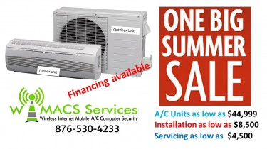 Summer Sale On Air Condition Units