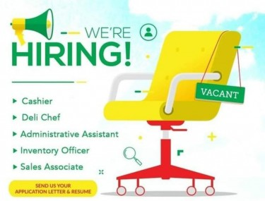 ADMINSTRATIVE ASSISTANT  VACANCY NOT AN AGENCY