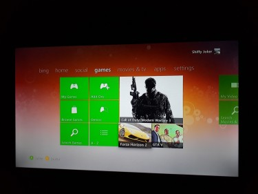 Xbox360 461GB With GTA5, MK9 And Forza Horizon 2