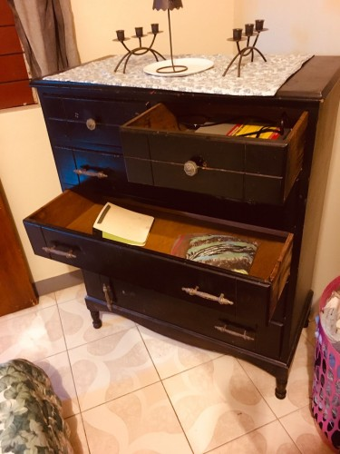 Solid Wooden Chest Of Drawers