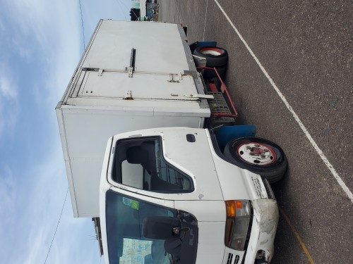 Isizu Elf 250 3.5 Box Truck.