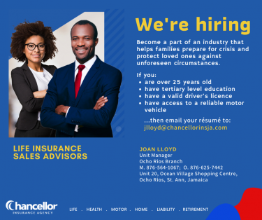 Life Insurance Sales Advisors