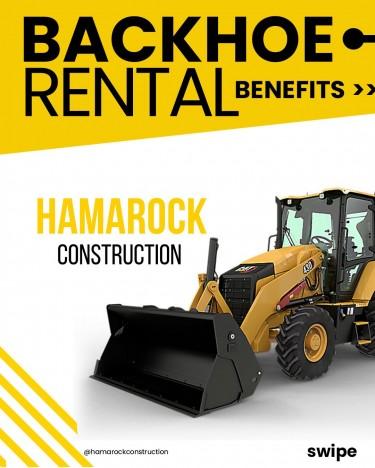 Backhoe Rental Construction Kingston, St Catherine, St Thomas
