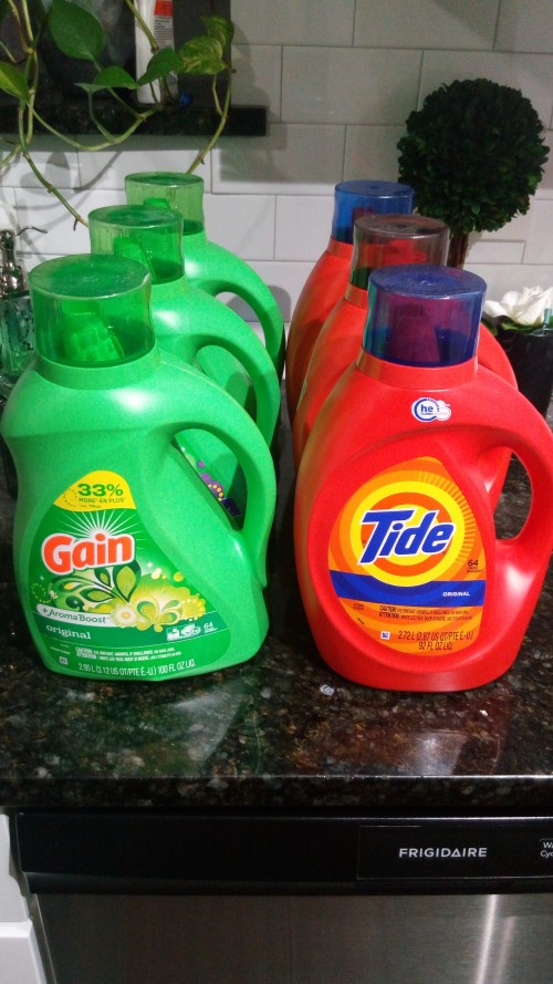 Tide And Gain Laundry Detergent 64 Load