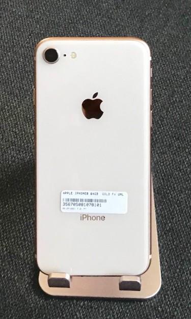 IPhone 8  64GB, Gold, Fully Unlocked