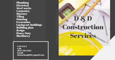 Construction Building Contractor And Services
