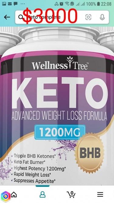HYLEYS DETOX AND WEIGHT LOSS TEA AND KETO