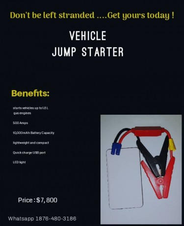 Don't Be Left Stranded - Vehicle Jump Starters