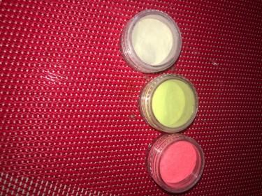 Nail Glitter And Neon Pigment  Powder