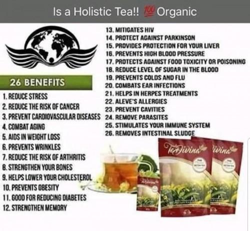 Vida Divina Products (Detox Tea)