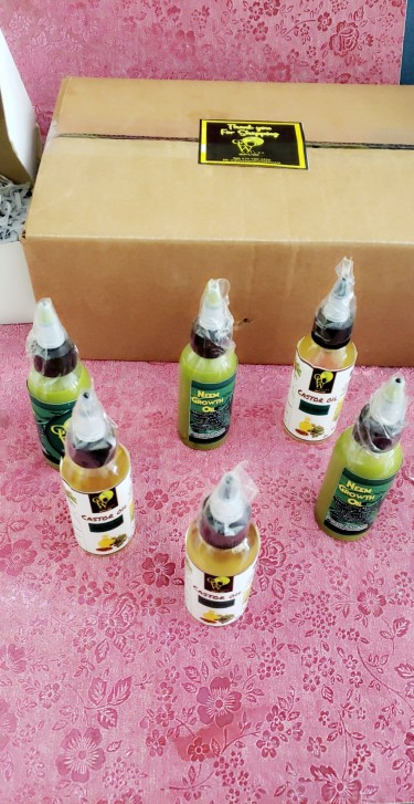 Neem Growth And Castor Oils