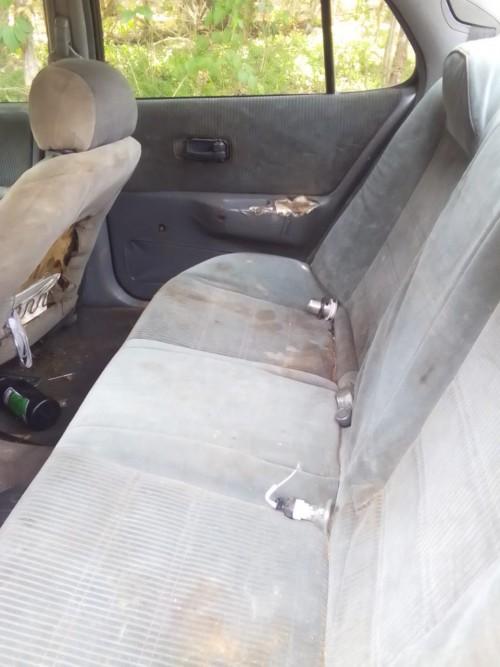 Nissan. Bluebird 1993 Driving