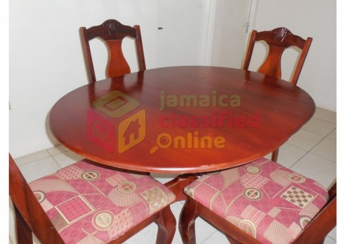Used 4-chair Dining Table Set (selling As Is)