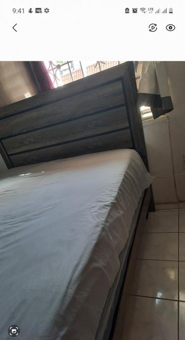 Full Bedroom Gray Queen Size Set